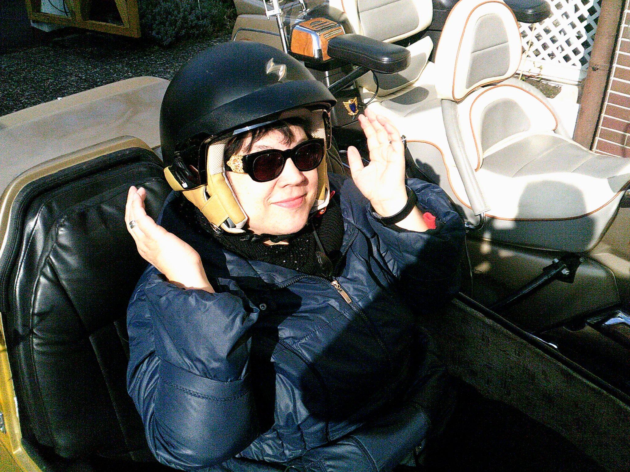 Motorradbraut Kerstin