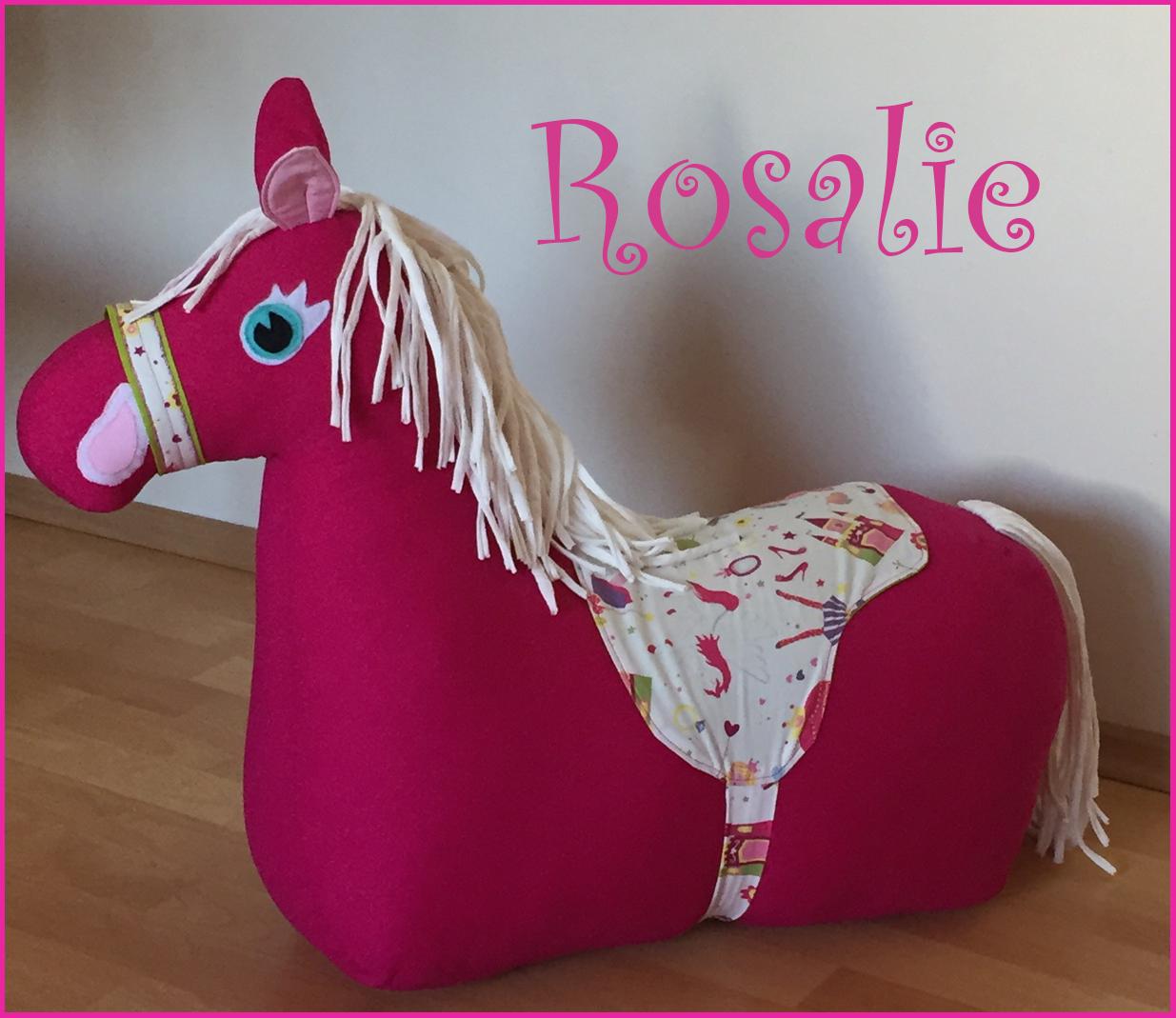 Rosalie - das Reitpferdchen